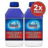 Finish Maschinentiefenreiniger, Spülmaschinenreiniger, Maschinenpfleger, Sparpack, 2er Pack (2 x...