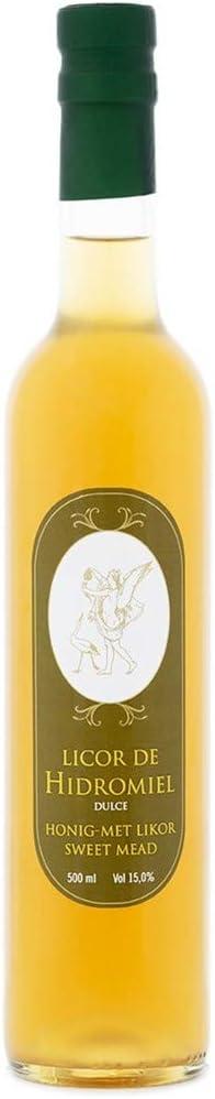 L'Abella Mel - Hidromiel Dulce 500ml - Bebida a base de miel