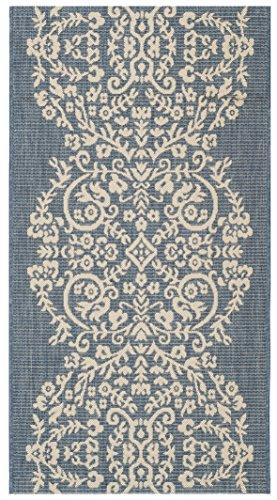 Safavieh Martha Stewart Collection MSR4256-243 Azurite Area Rug (6'7' x 9'6')