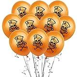 10 º/bolsa de Halloween látex de huellas dactilares sangre calabaza globo 12 pulgadas 2,8 g imprimir la decoración globo del partido