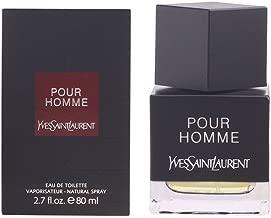 Yves Saint Laurent Pour Homme Eau de Toilette Spray for Men, 0.16 Pound