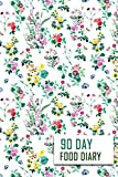 90 Day Food Diary: 90 Day Food Journal and Fitness Tracker: Record Eating, Plan Meals, and Set Diet and Exercise Goals for Optimal Weight Loss.