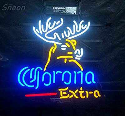 LinC Neon Sign-Neon Sign Records for Bedroom Garage Beer Bar Signs and Nightclub, Real Glass Neon Light Sign for Wall Decor Art