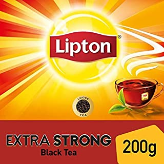 Lipton Extra Strong Black Tea , 200g