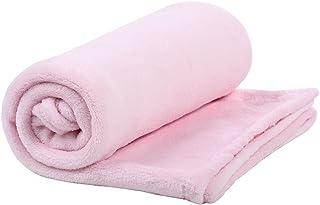 Cobertor de Microfibra Mami Contem 01 Un, Papi Textil, Rosa Mami, 1.10M X 85Cm