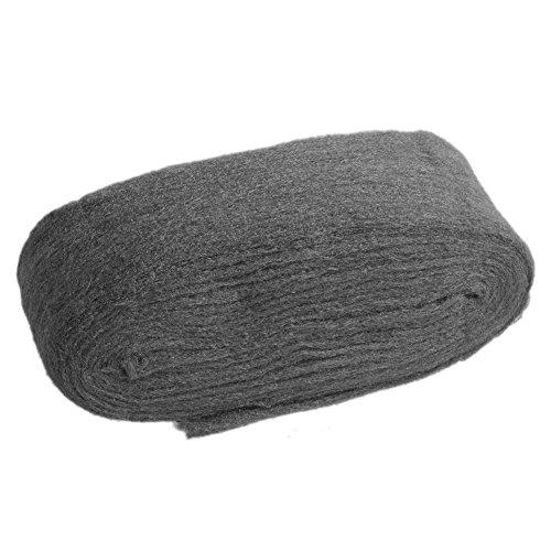 Haven shop Fil de laine d'acier ultra fin de 3,3 m de longueur de coupe 0000 pour polissage, nettoyage et élimination des effritements