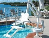 HomeCare Innovation BV Feste Poollift für behinderte Menschen | schwimmbadlift | Schwimmbadlifter