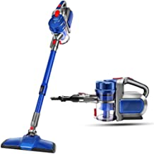 Portable Vacuum Cleaner Home Small Powerful high Power Handheld car Wireless Mute Car Vacuum Cleaner (Color : Blue)