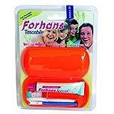 Forhans Kit Tascabile Igiene Orale, 1 Confezione (1 Spazzolino + 1 Dentifricio 12,5 ml)