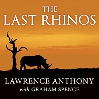 The Last Rhinos audiobook cover art