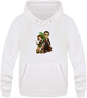Leon and Girl Men's Pull Over Hoodie
