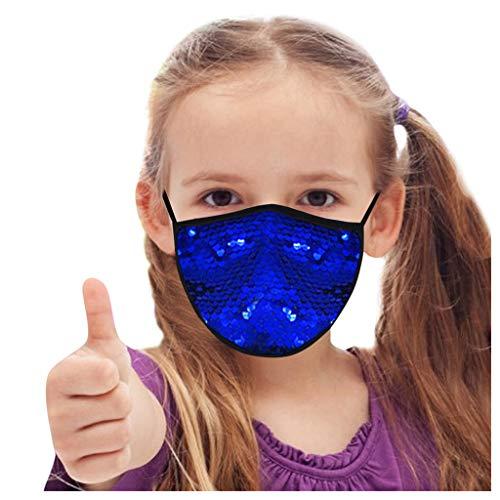 PPangUDing Mundschutz Kinder Wiederverwendbar Waschbar Atmungsaktive Staubdicht Halstuch Schlauchschal Multifunktionstuch Bandana für Junge und Mädchen