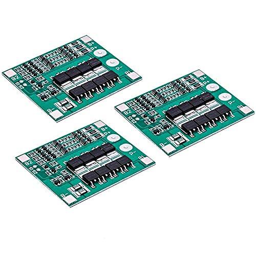 AZDelivery 3 x PCB Schutzboard für 3 Lithium-Batterien BMS Board Modul