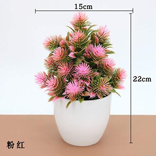 BRTTHYE kunstmatige bonsai-plant, groen, decoratie van kunststof, bonsai, kunstplant in pot, ornament, feest, bruiloft, decoratie van het huis