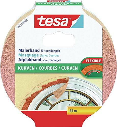 Tesa Malerband für Kurven, 25m:25mm
