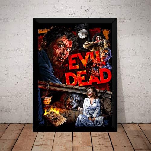Quadro Filme The Evil Dead Uma Noite Alucinante Arte