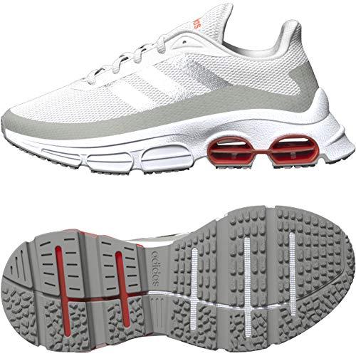 Adidas QUADCUBE J, Zapatillas Running Unisex Adulto, Gris (Dash Grey/Matte Silver/Metal Grey), 39 1/3 EU