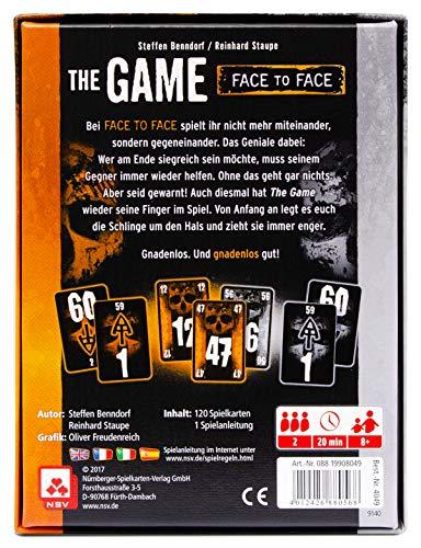 NSV – 4049 – THE GAME FACE TO FACE – Kartenspiel - 4