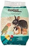 Sanipet Profumato - Lettiera di granuli di tutolo di mais aromatizzata al limone per piccoli animali - 10 Lt