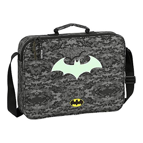 Batman Tasche, Schultasche für Kinder, Umhängetasche für Jungen, Tasche für Kinder, Fluoreszierendes Im Dunkeln Leuchten, Kinder-Aktentasche, Geschenk für Jungen!