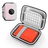 Custodia per Polaroid ZIP Stampante Portatile/Polaroid Mint Fotocamera digitale Instant Print, Protettiva Cover Case (Pink)