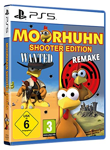 MOORHUHN Shooter Edition - 2 Moorhuhn Games in einem Paket - PS5 [PlayStation 5]