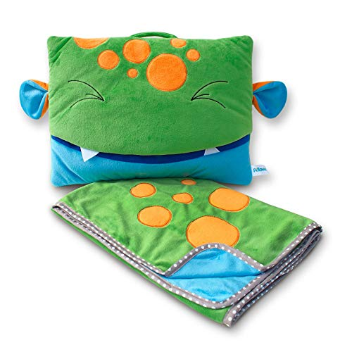 Pillow - Juego de almohada y manta de viaje, diseño de musgo