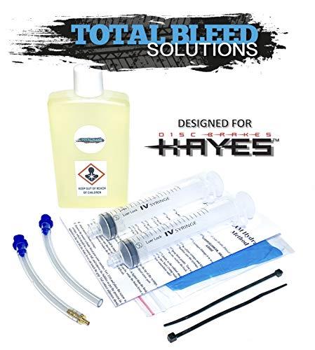Total Bleed Solutions TBS Hayes 9 / So1e Entlüftungsset für Hydraulische Bremsen + DOT 4 Flüssigkeit