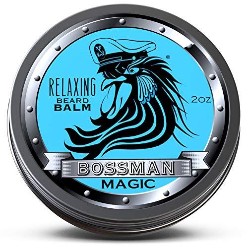 Bossman Relaxing Beard Balm – Nourish - Thicken - Strengthen Your Beard (Magic)