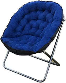 LLRYN Home Adjustable Folding Lazy Sofa Relax Floor Chair Gaming Chair Floor Cushion Multiangle Couch Beds for Watch (Colo...