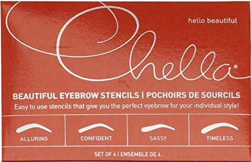 Chella Beautiful Brow Stencils - 1 Count