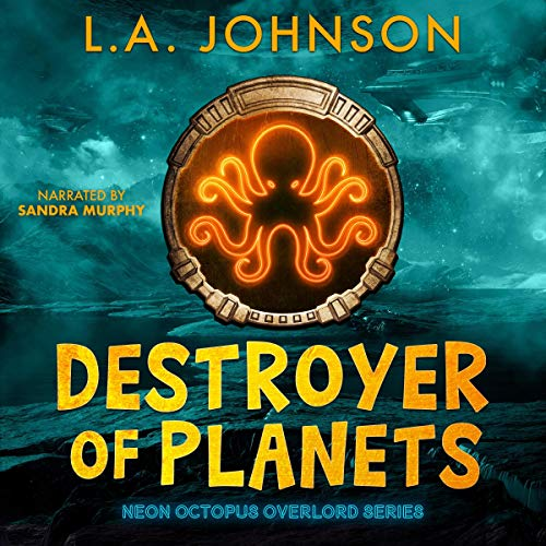Destroyer of Planets audiobook cover art