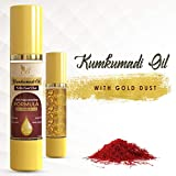 The Body Avenue Kumkumadi Oil Enriched with Gold Dust for Anti Aging, Dark Circles, Brighten Complexion, Flawless Skin - 50ml