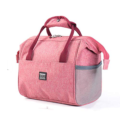 Insulated Lunch Bag Large Capacity Cool Bag Multi-Functional Lunch Tote Deformable Daily Food Container with High Density Waterproof Fabric Durable to School/Office/Outdoor,21x24x15cm