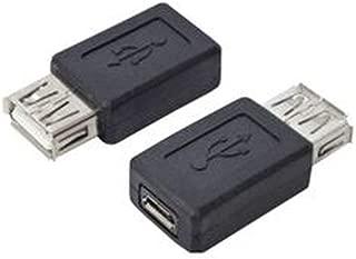 -まとめ-変換名人・変換プラグ・USB・A-メス-→microUSB-メス-・USBAB-MCB-×20セット-