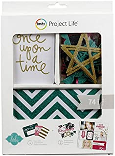 American Crafts Project Life Kit, Mini, Heidi Swapp, Glitter