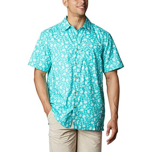 Columbia Men's Super Slack Tide Camp Shirt Super Slack Tide Camp Shirt