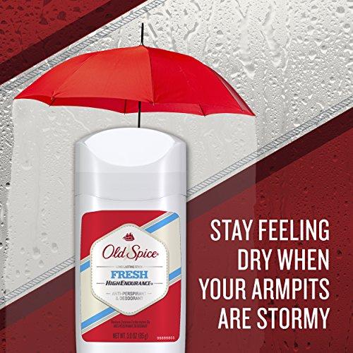 Old Spice Déodorant anti-transpirant High Endurance à application invisible - 90 ml (Lot de 6)