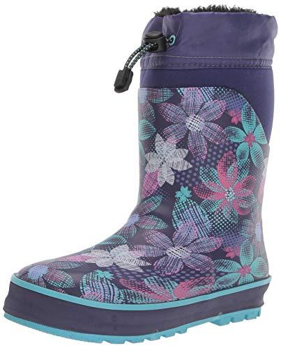 Western Chief Girl's Waterproof Insulated Neoprene Boot Boot, Purple, 13/1 M US Little Kid