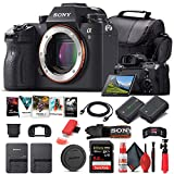 Sony Alpha a9 Mirrorless Digital Camera (Body Only) (ILCE9/B) + 64GB Memory Card + NP-FZ-100 Battery + Corel Photo Software + Case + External Charger + Card Reader + HDMI Cable + More (Renewed)