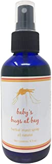 Bugs at Bay Mosquito Repellent for Kids - DEET-FREE Insect Repellent MADE IN THE USA - Not Sticky or Oily - Bug Spray Protects Kids and Adults from Biting, Flying Bugs - 100% Natural