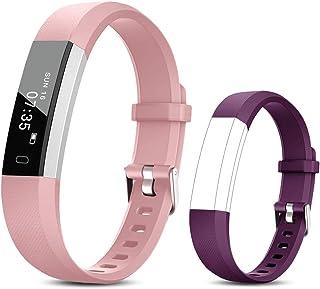 comprar comparacion TOOBUR Reloj Inteligente para Mujer Hombre Niños, Pulsera Actividad con Cuenta Pasos y Calorias, Podómetro Smartwatch Impe...