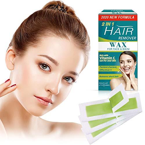 Wax Strips for Arms, Legs, Underarm Hair 45 PCS