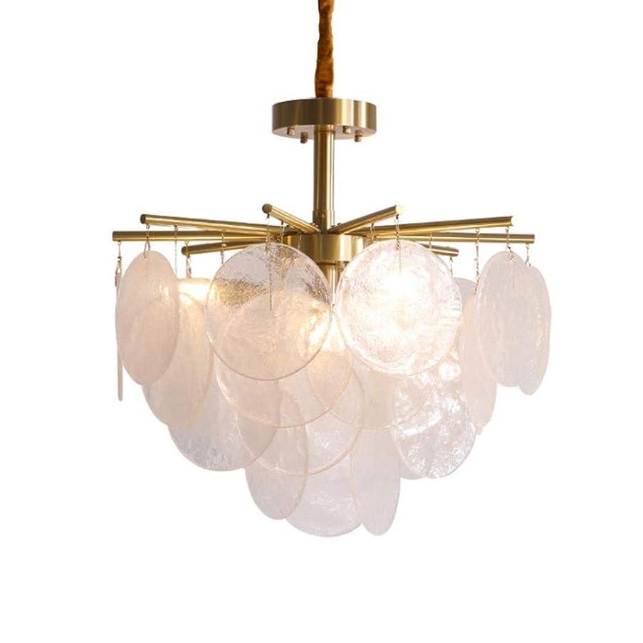 休み鍔意図DDZDX 食堂のための現代的な水晶シャンデリアの同じ高さの台紙の吊り下げ式の照明設備、ダイニングルームの寝室のロビーのための贅沢なシャンデリアランプ