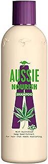 Aussie Nourish szampon do włosów, do pielęgnacji włosów, 300 ml, szampon damski, z ekstraktem z nasion konopi, nasionami k...