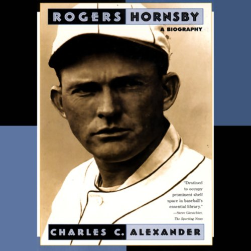 Rogers Hornsby  audiobook cover art