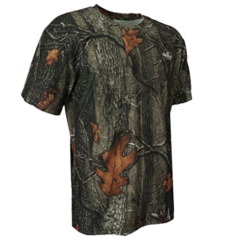 MagiDeal T-Shirt Camouflage Camo Tee Militaire Tactique Chasse Camping Homme - XXXL
