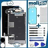 Malison - Set de reparación para iPhone 8 (incluye pantalla LCD de retina con pantalla táctil, junta, protector de pantalla y herramientas)