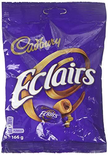 Cadbury Chocolate, Eclairs Classic, 166 g, Brown