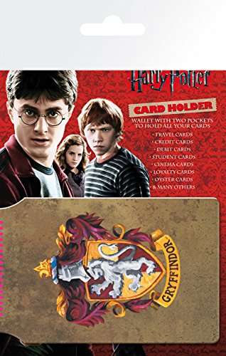 GB Eye LTD,Harry Potter, Gryffindor, Tarjetero